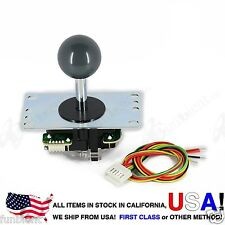 Sanwa Original Japan Arcade Joystick JLF-TP-8YT with Gray Ball Top stick mod