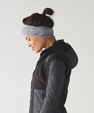 NWT Lululemon Top Knot Toque Cold Weather Hat Cap Heather Grey Womens