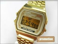 Classic Gold Casio Digital Watch A159 F91 F-91W Retro women men unisex vintage