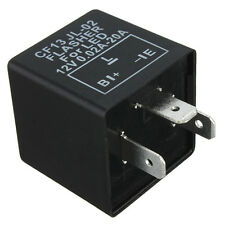 3-PIN Electronic Flasher Relay Module For LED Motorcycle Error FAST Flasher Hot