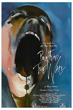 Classic Rock: Pink Floyd * The Wall * USA Release Mini Movie Poster Circa 1982