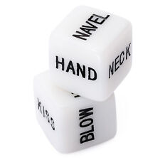 2Pcs New Adult Game Dice Erotic Dice Creative Toys Bachelor Dance Party Toys
