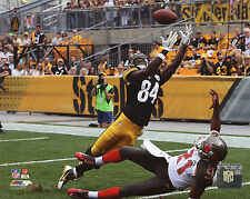 ANTONIO BROWN PITTSBURGH STEELERS 8X10 ACTION PHOTO