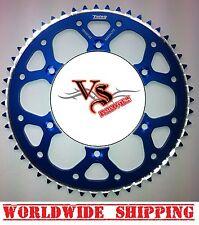 Talon Rear Sprocket 48T Kawasaki KX KXF KMX KDX KLX BLUE KXF250 KXF450 KX125
