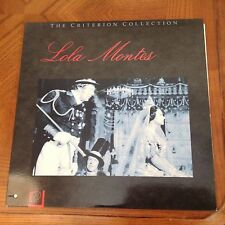 LOLA MONTES CRITERION COLLECTION LASERDISC
