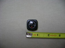 Black and Red Compass Type 3 for 20mm Watchband or Paracord Bracelet (NEW)