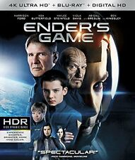 ENDER'S GAME (4K ULTRA HD Atmos)- Blu Ray - Sealed Region free