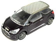 Citroen DS3 2014 Model Car New and Genuine In Purple with Grey Roof AMC19479