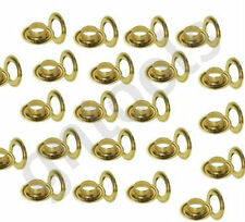 10mm Hole 20mm Tarpaulin Eyelets Grommet Tarp Sail & Awnings Tents 25 Sets