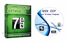Winzip For Rar Arhived Files Compression Unzipping Software CD Disk For Windows