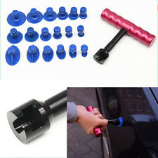 Car T-Bar Body Panel Sheet Metal Paintless Dent Repair Puller Lifter Hammer Tool