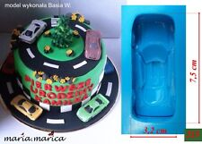 Silikonform silicone mold (215)  Car mercedes 3D mold cake fondant sugarcraft