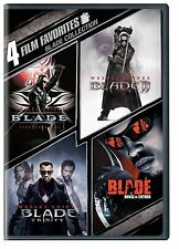 4 Film Favorites: Blade Collection (Blade / Blade II / Blade: Trinity / House)