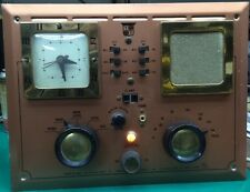 ANTIQUE/VINTAGE Trans Tel Corp Radio-Com Model 2500-C-6 Intercom Sessions Clock