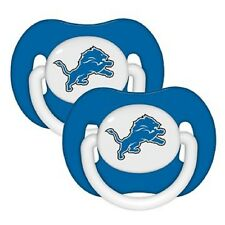 Detroit Lions Orthopedic Baby Pacifiers [NEW] NFL Infant Newborn CDG