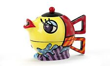 ROMERO BRITTO FISH TEA POT FOR ONE SET