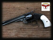 UBERTI SCHOFIELD IVORY GRIPS ~ CIMARRON  NAVY ARMS  STOEGER  TAYLORS SCOFIELD ^