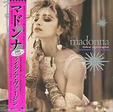 "MADONNA ""LIKE A VIRGIN & OTHER BIG HITS"" VINILE EP ROSA RDS 2016 - NEW"