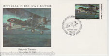 W17 4-2 MARSHALL ISLANDS FDC COVER 1990 BATTLE OF TARANTO 1940