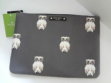 NWT Kate Spade GIA BLAZE A TRAIL Clutch Bag / Pouch WLRU 2569 Paintowlpr F6