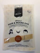 SALE!! SAVE $1.50 BEARD DYE 100% ALL NATURAL CHEMICAL FREE - by Henna Color Lab