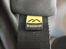 """Brenthaven 15"""" Laptop Black Canvas  Shoulder/Messenger Bag"""