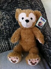 Disney 17 in Duffy Bear Plush  Mickey Mouse NEW WITH TAGS