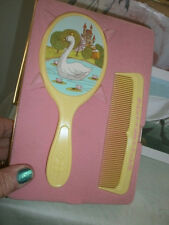 AVON HER PRETTINESS BRUSH & COMB SET  1969  - NIB