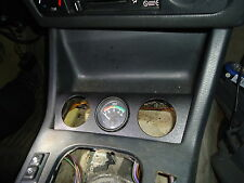 BMW E30 (1989-1991) Ash Tray Into Gauge Holder: Three 52mm