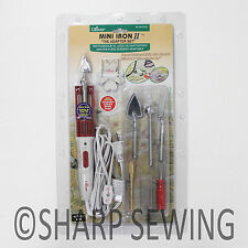CLOVER MINI IRON II ADAPTER WITH 5 ASSORTED TIPS ITEM #CL9101