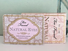 TOO FACED NATURAL EYES NEUTRAL EYE SHADOW COLLECTION NEW IN BOX