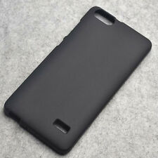 For Huawei Honor 4C G Play Mini New Black TPU Matte Gel skin case Back cover