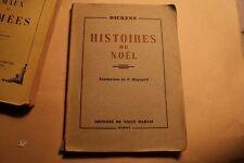 Histoires  de Noël  Charles Dickens 1945
