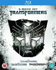TRANSFORMERS Trilogy Complete Bluray Collection Film REVENGE OF FALLEN DARK MOON