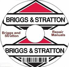 Briggs and Stratton Repair Manuals on CD