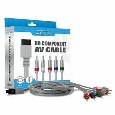 Nintendo Wii U/ Wii Component-AV High resolution graphic HDTV Cable New (Retail)