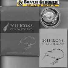 (1) 2011 New Zealand Kiwi 1 oz silver proof coin