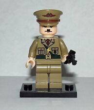 Adolf Hitler Custom Minifigure Army figure toy Officer  Soldier Nazi German