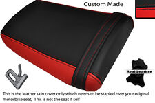 BLACK & RED CUSTOM FITS HONDA CBR 600 RR3 RR4 03-04 REAR SEAT COVER
