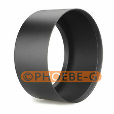 72mm Tele Metal Screw-in Lens Hood For Canon Nikon Sony Olympus Camera