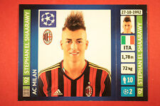 PANINI CHAMPIONS LEAGUE 2013/14 N. 573 EL SHAARAWY MILAN BLACK BACK MINT!