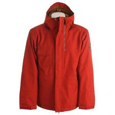 New Mens Bonfire Arc Insulated Snowboard Jacket Large Torch