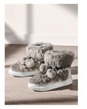 MICHAEL Michael Kors Optic White Nala Rabbit Fur Ankle Boots NWB Size 8M 250$