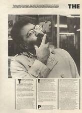 9/2/85PNO6 /7 ARTICLE EVAN PARKER & SIREN SONG 0F THE SAXOPHONE