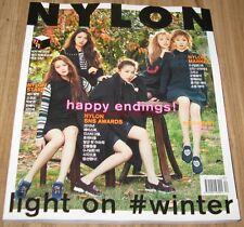NYLON RED VELVET KOREA ISSUE MAGAZINE 2015 DEC DECEMBER NEW