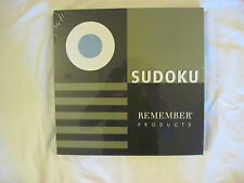 Sudoku Remember Game Factory Sealed NIP RETAIL $74.95  Great Gift NEW