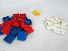 Vintage 1960's Tupperware Tupper Toys Build O Fun lot of pieces squares
