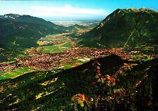 Blick vom Kreuzeck auf Garmisch-Partenkirchen , Ansichtskarte