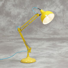 Yellow Desk Table Lamp Bedside Retro Iconic Vintage Design Angle-poise Angle New