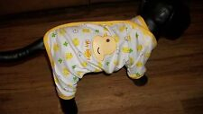 "dog pajamas/onesies,cotton, ""My baby"" duck, XXS (**read details for size!)"